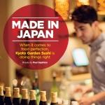 GQ Magazine Kyoto Garden Sushi